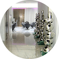 Murano hotel hall in Paris - Unique Experiences / Luxury Hotels Consulting