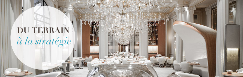 Restaurant ADPA de l'hôtel Plaza Athénée à Paris - Unique Experiences / Luxury Hotels Consulting