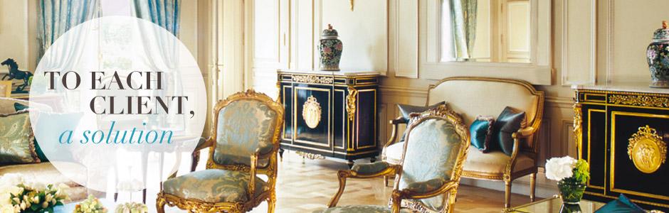 Le Meurice royal suite in Paris - Unique Experiences / Luxury Hotels Consulting